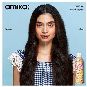 Amika Perk Up Talc-Free Dry Shampoo bundle